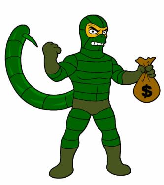 Scorpion-Spiderman-Cartoon por ti.
